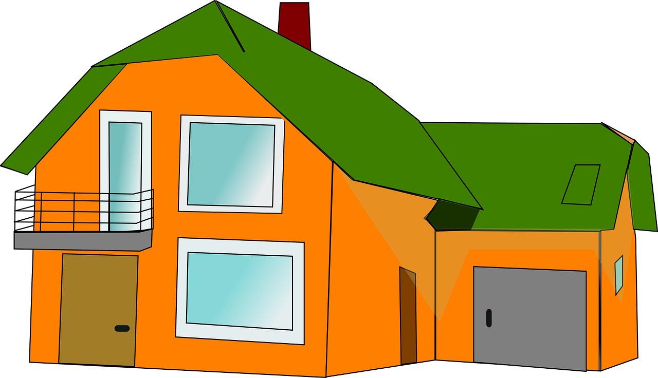 Oranžový domek