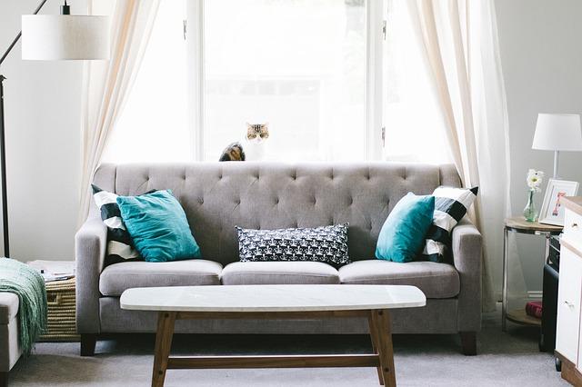 interiérová sedačka