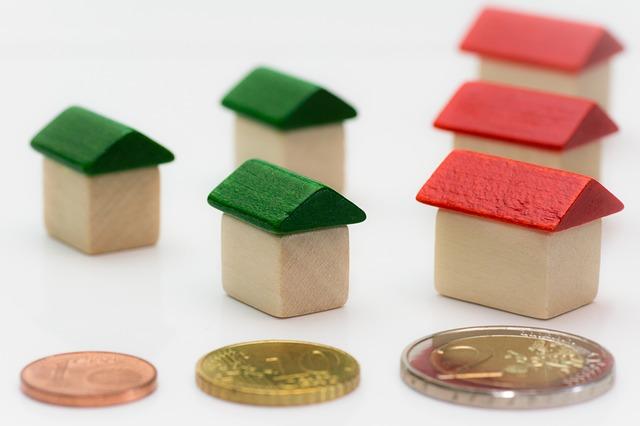 domečky a mince