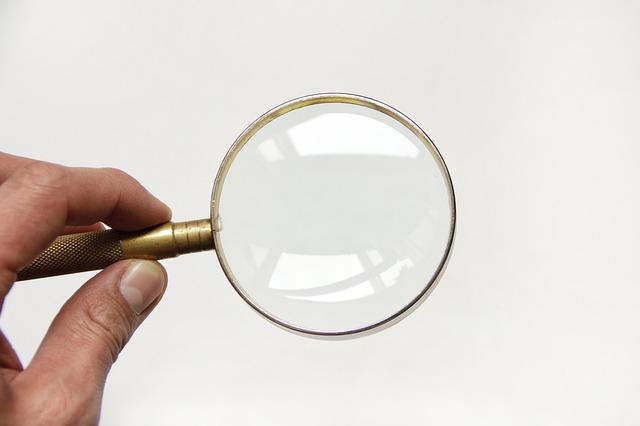 zvětšovací sklo