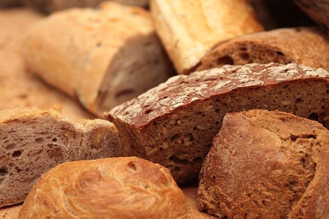 kousky chleba